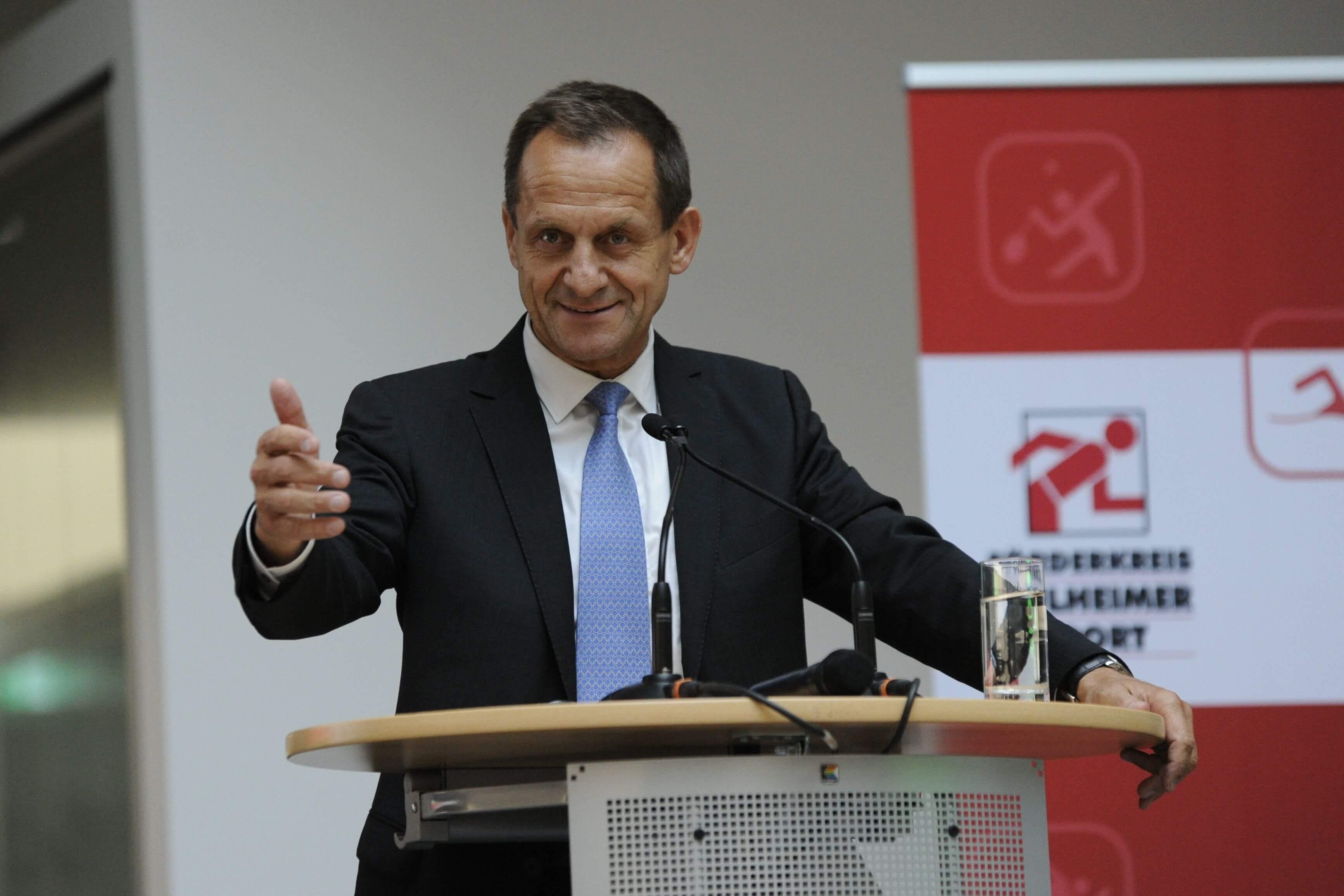 DOSB Präsident Alfons Hörmann