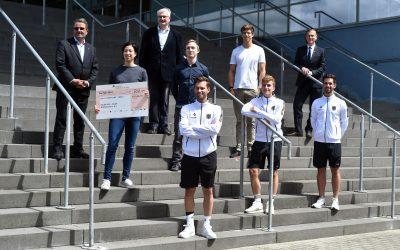 Mülheimer Sport Förderkreis gratulierte Jonathan Rommelmann zu Olympiasilber