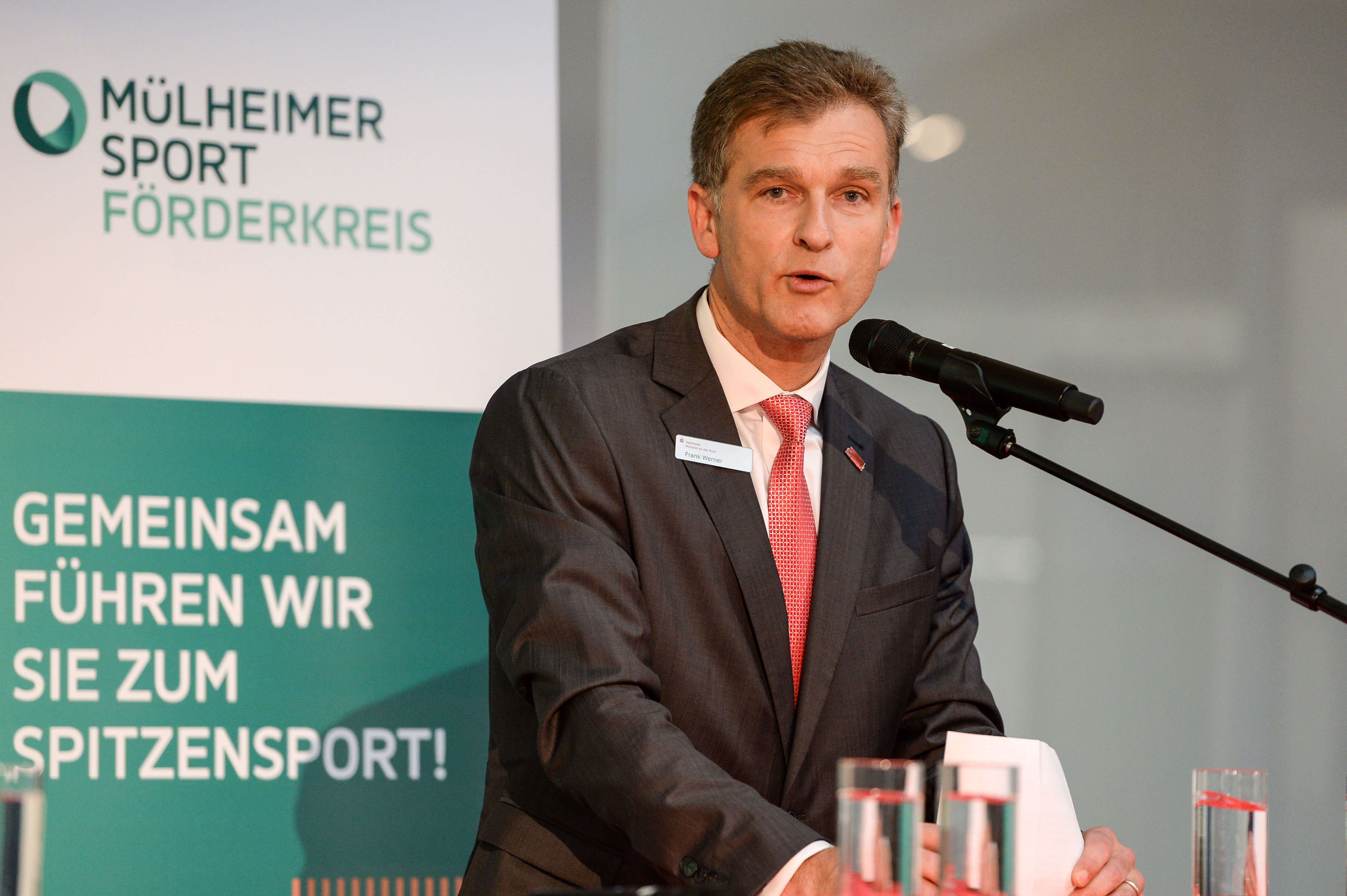 Vorsitzender Frank Werner